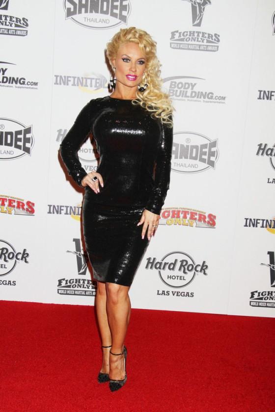 Nicole Coco Austin World Mixed Martial Arts Awards 2013