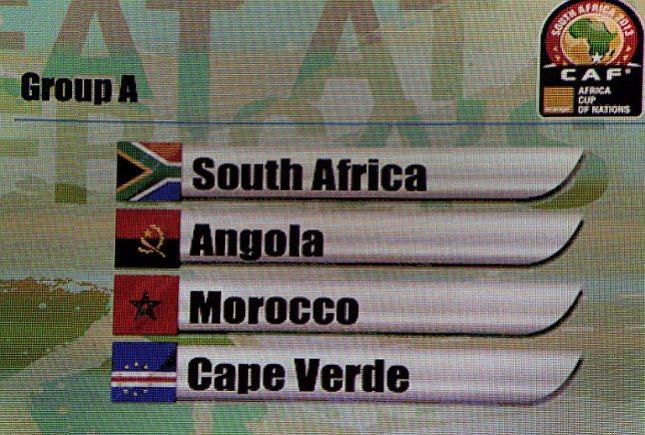 South Africa vs Cape Verde dates 19-1-2013 African Nations Cup 2013