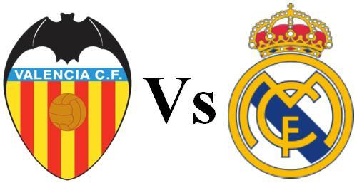 Real Madrid vs Valencia score 15/1/2013 Spanish King's Cup 2013