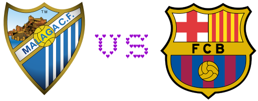 Barcelona vs Malaga 16-1-2013 Copa del Rey