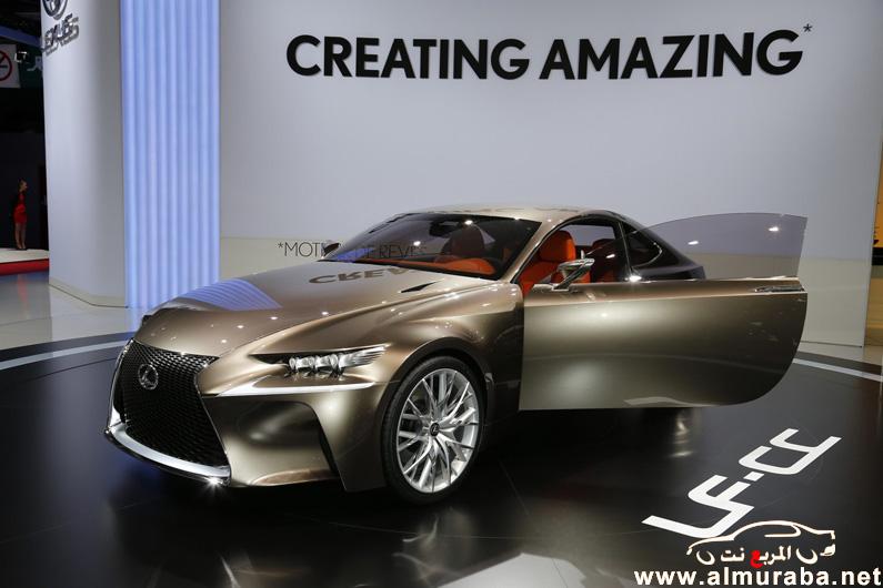 صور سيارة لكزس ال اف سي سي 2013 - مواصفات سيارة Lexus LF-CC 2013 - اسعار سيارة لكزس Lexus LF-CC 2013
