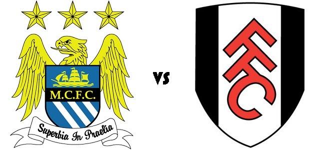 Manchester City vs Fulham score 19 January 2013 Premier League