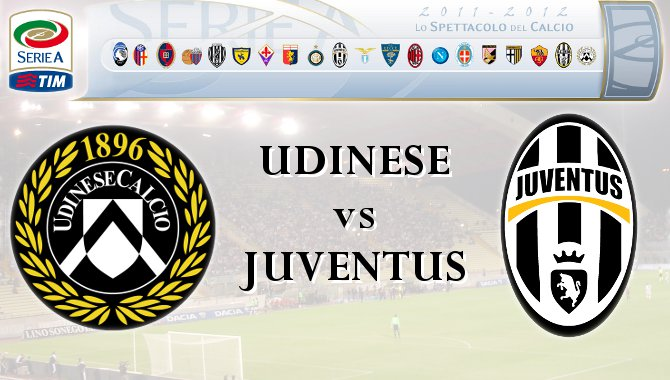 Juventus vs Udinese score 19/1/2013 In Serie A 2013