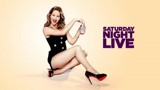 ��� ����� ������ 2013 - Jennifer Lawrence Hot in SNL promo