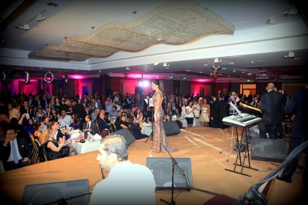 بالصور هكذا ودعت سيرين عبد النور عام 2012 - صور حفل سيرين عبد النور في راس السنة 2013