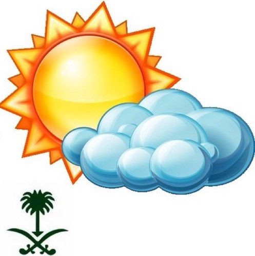 توقعات الطقس ودرجات الحرارة في السعودية - الاثنين 16 ربيع الاول 1434 هـ