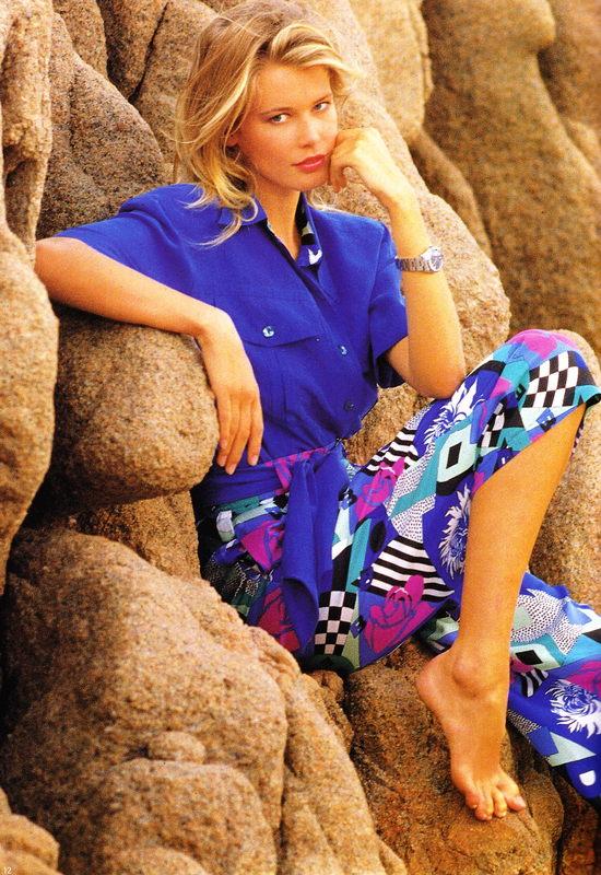 ����� ����� ������� ��������� ������ ���� Claudia Schiffer