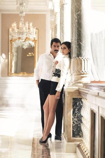 صور الممثلة التركية برغوزار كوريل على غلاف مجلة ماريا كلير التركية 2013 , صور زوجة السلطان سليمان على مجلة ماريا كلير التركية 2013