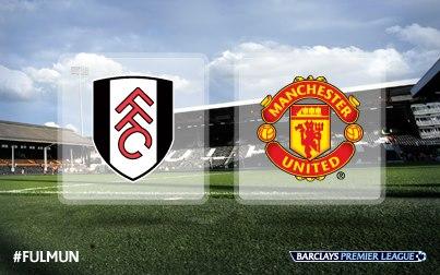 Fulham vs Manchester United 2-2-2013 premier league