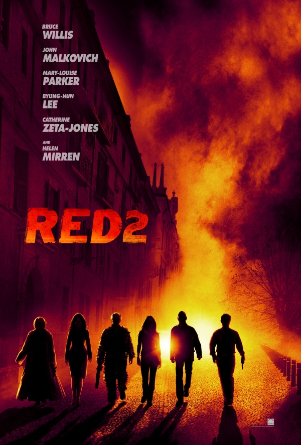 Red 2 poster - ����� ���� Red 2