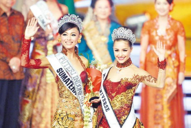 ���� ���� ��������� Miss Indonesia to 2013 , ��� ��������� ���� ���� ��������� ���� 2013