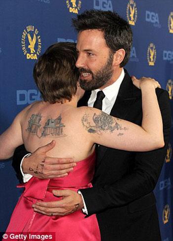 ������ ���� Argo ������ �� ����� ���� ������ the Director's Guild Awards