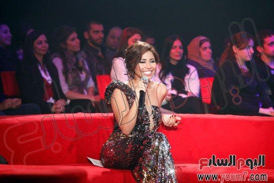 صور شيرين عبد الوهاب في برنامج بحلم بيك 2013