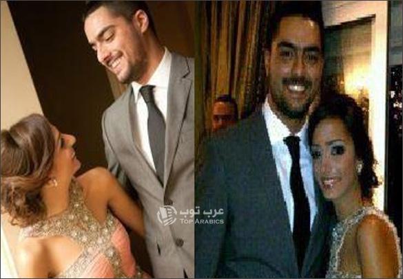 صور زوجة حسن الشافعي , صور حسن الشافعي وزوجته زينة نطوط