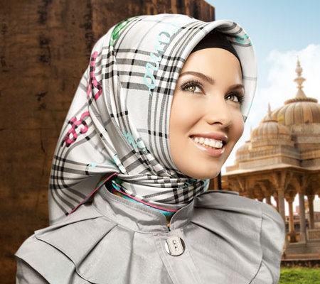 ربطه الحجاب رائعه 2013 , ازياء محجبات منوعه وشياكه 2014