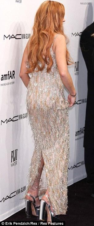 ��� ������� ����� �� the amfAR New York Gala