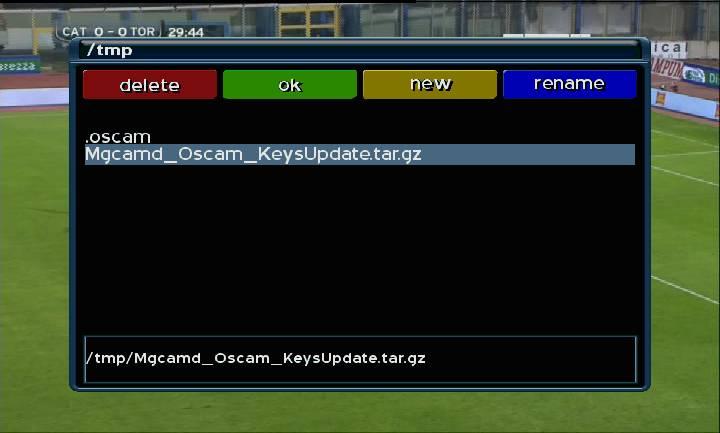 DM  500   Mgcamd_Oscam_KeysUpdate