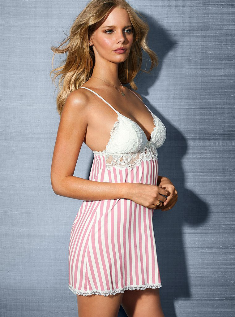 Marloes Horst in Victoria's Secret Lingerie Photoshoot - January 2013