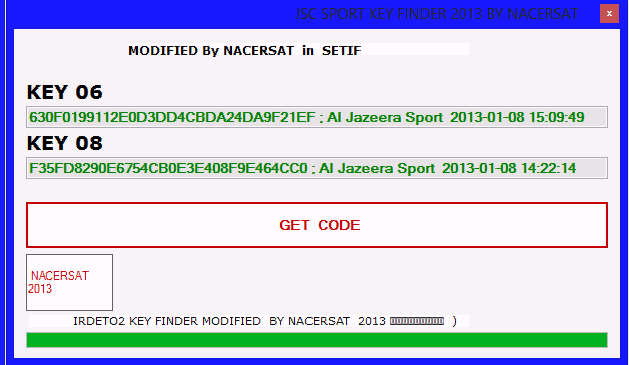 ������ ������ ��� ����� ������� �������� ������ ����� 11/1/2013 - JSC SPORT Key Finder V 2