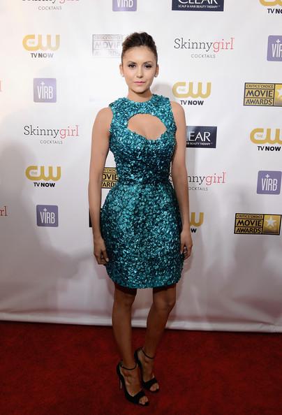 Carrie Keagan & Nina Dobrev - Critics Choice Movie Awards 2013