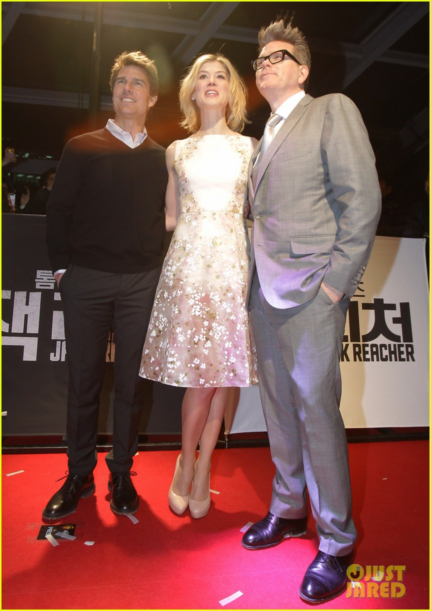 Tom Cruise & Rosamund Pike: 'Jack Reacher' Busan Screening