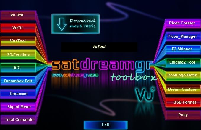 SatDreamGr Toolbox VU+ Edition V.5