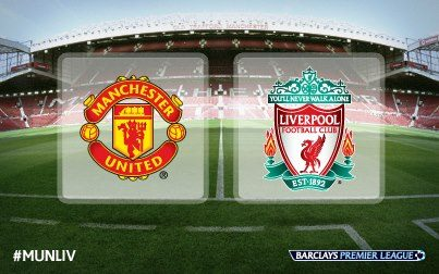 Manchester United Vs Liverpool Sunday 1/13/2013 the English  Premier League