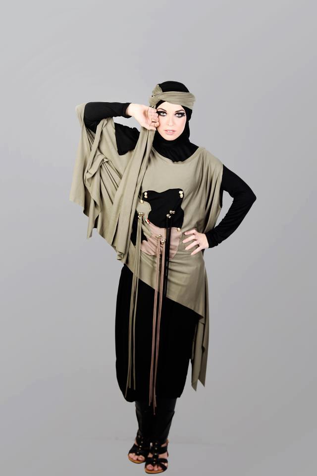 5e9afbc12 ملابس محجبات جديدة 2013 - اجمل صور ملابس للمحجبات 2014