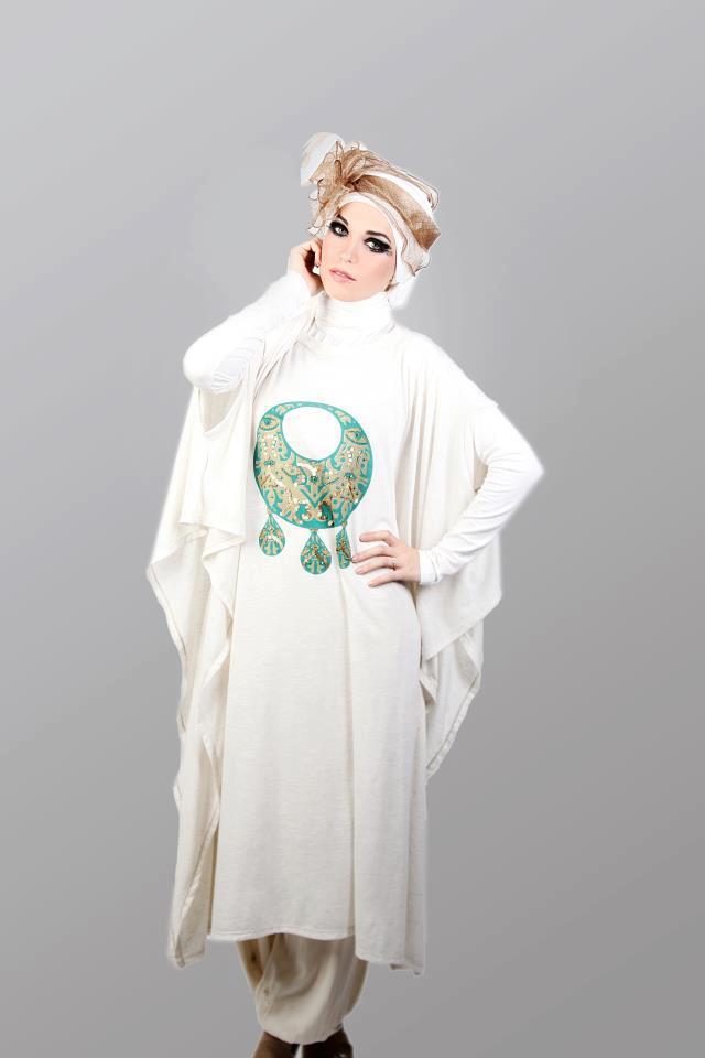 ملابس محجبات جديدة 2013 - اجمل صور ملابس للمحجبات 2014