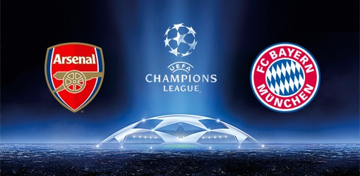 Arsenal vs Bayern Munich 19-2-2013 UEFA Champions League