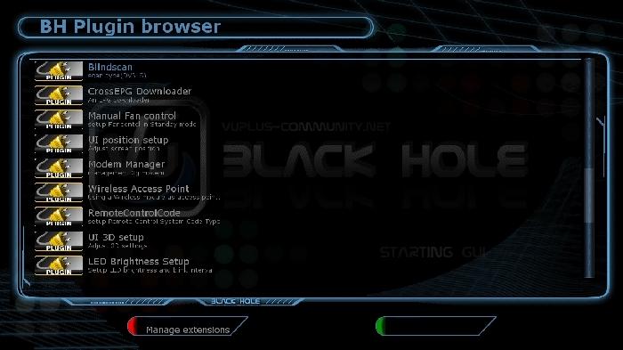 BlackHole 2.0.0 Backup by sat4fun vu+ ultimo