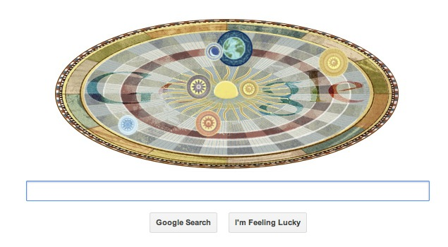 Nicolaus Copernicus's 540th birthday marked by Google doodle