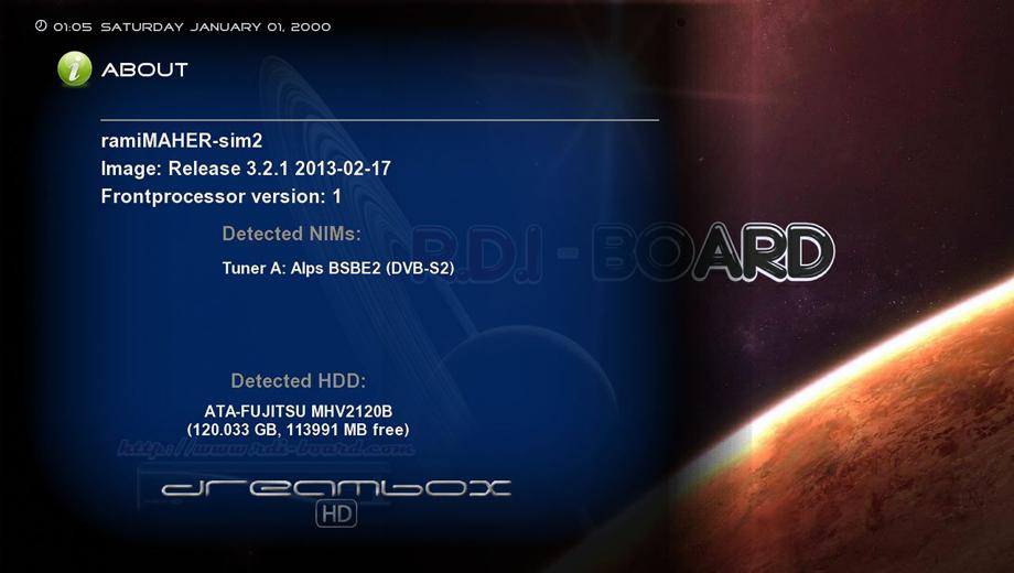 RDI-Board-image-dm800se-OE1.6-ramiMAHER #ssl84b