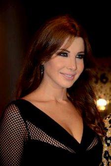 صور نانسي عجرم بفساتين باللون الاسود , اجمل فساتين نانسي عجرم 2013