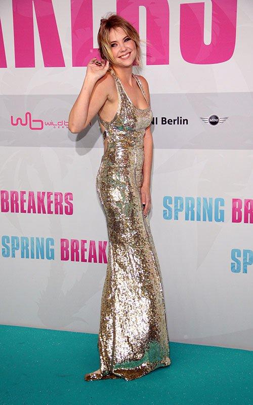 صور نجمـات فيلم Spring Breakers في برلين لافتتاح فيلمهم