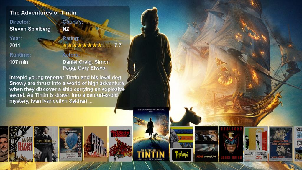 Movie Browser Plugin