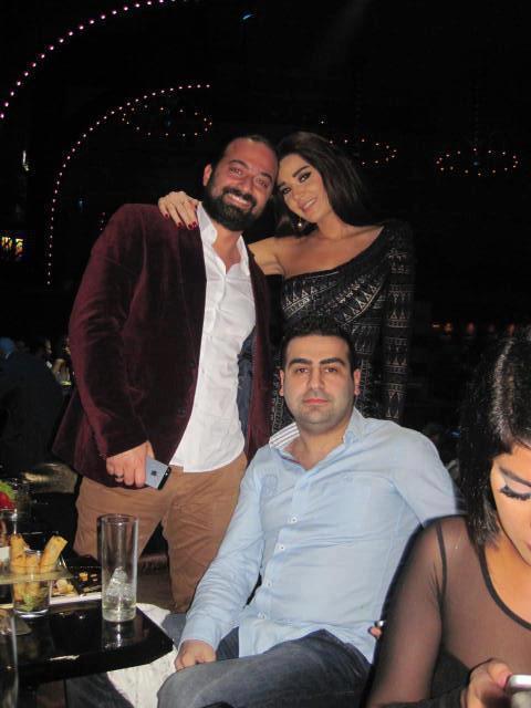 ��� ��� ����� ����� ��� ����� 2013 , Cyrine Abdelnour's birthday party