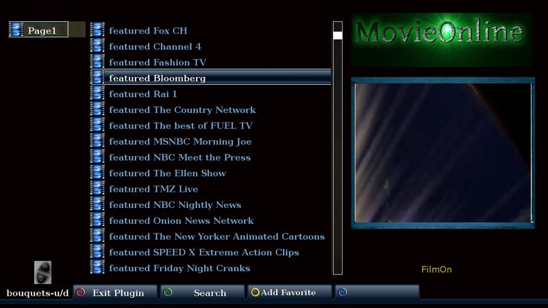 MoviesOnline enigma2 plugin-new