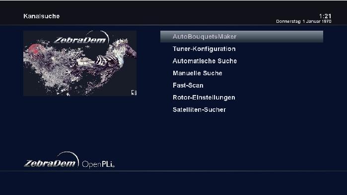 Zebradem E� Image Vu+ - Solo