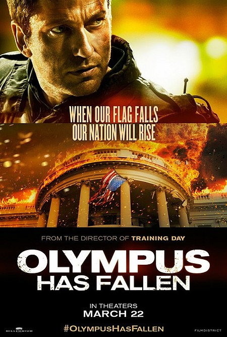 Olympus Has Fallen Posters - بوستر فيلم Olympus Has Fallen