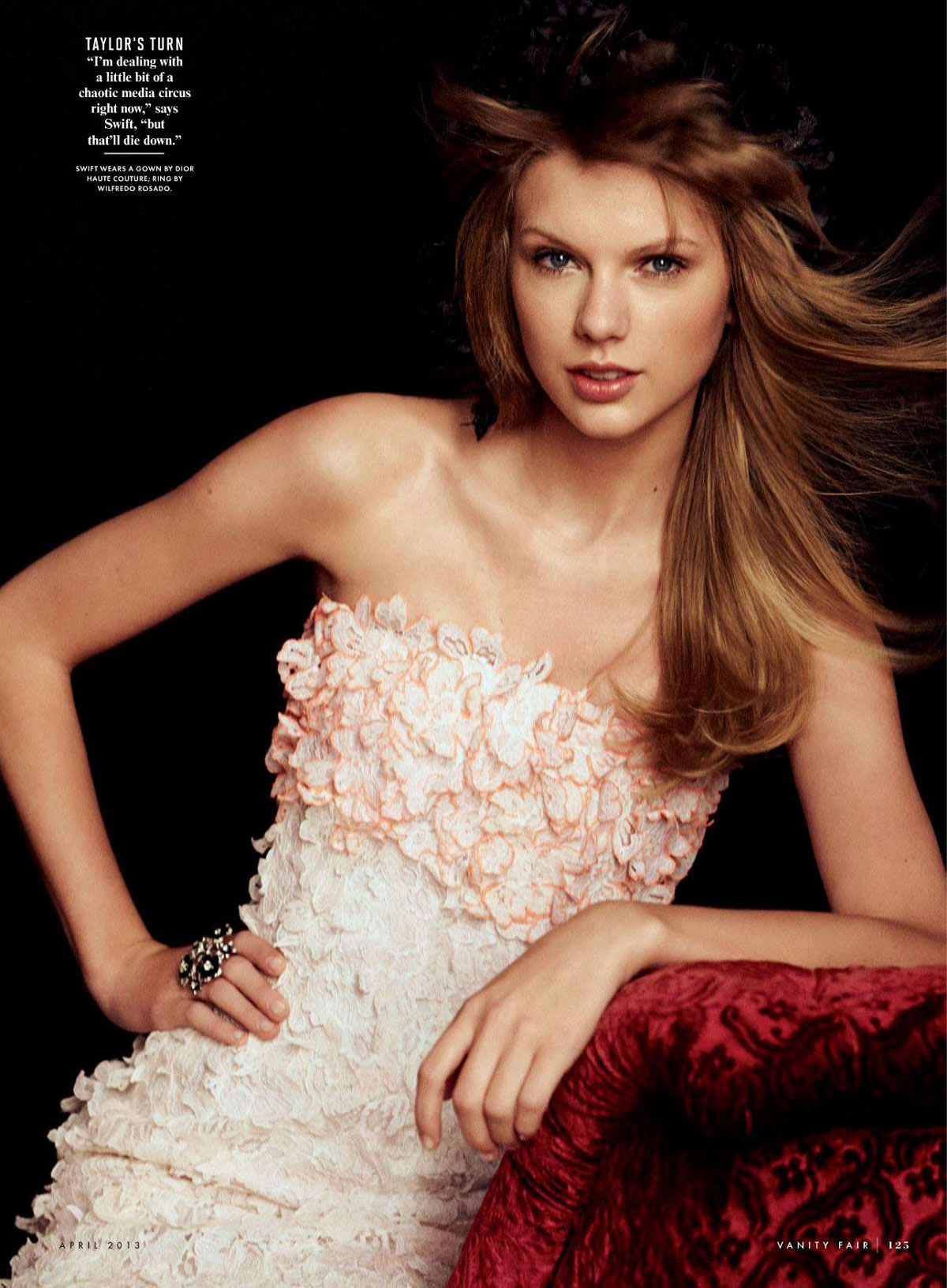 ��� ������ ����� ��� ���� ���� ������ ��� 2013 -  TAYLOR SWIFT in Vanity Fair Magazine April 2013 Issue