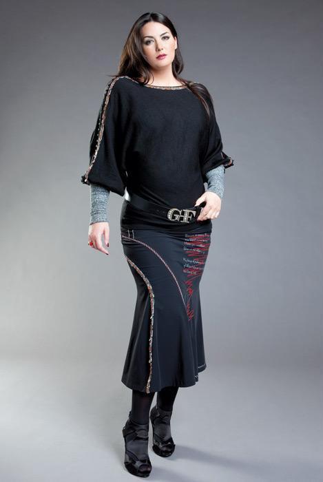 ملابس انيقه للسمينات 2013 - احلى ملابس سمينات كيوت 2013