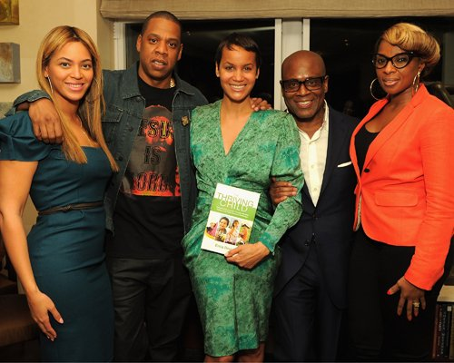 Beyonce & Jay-Z's Book Launch Party Lovin