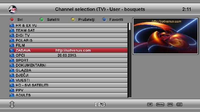 SatVenus dm800se 20-03-2013 OE2.0 kobra