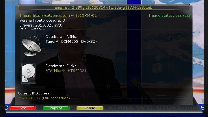 SatVenus dm800se 02-04-2013 OE 2.0