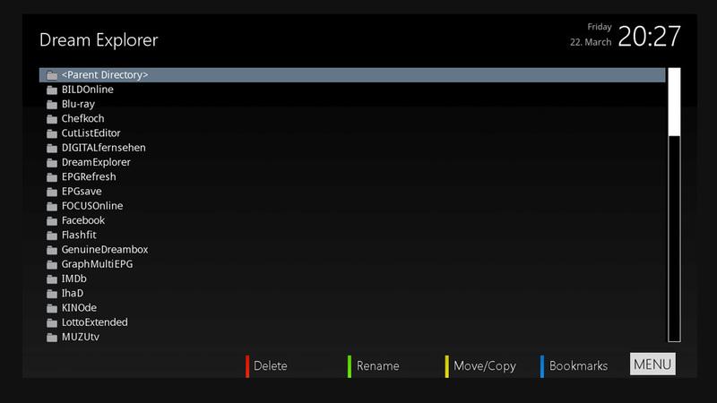 MetrixHD - Plugin Screens