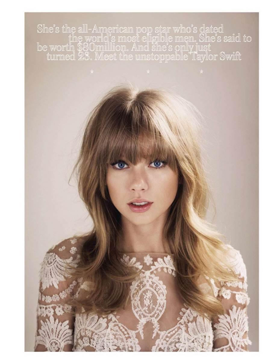 ��� ������ ����� ���� ������ UK ����� 2013 - Taylor Swift InStyle UK April 2013