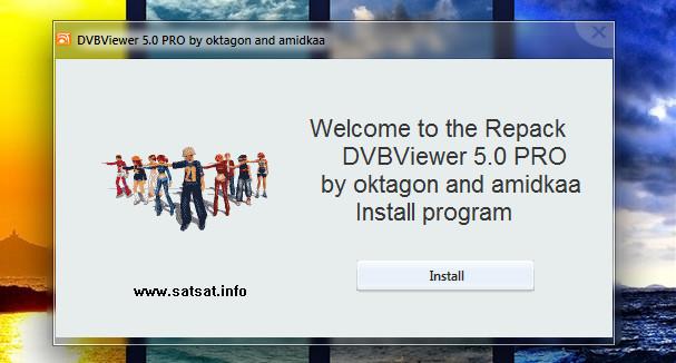 ����� DVBViewer 5.0 PRO by oktagon and amidkaa - ������ DVBViewer 5.0 PRO ����