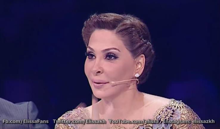 ��� ����� �� ��� ������ 2013 - Elissa At X Factor Arabia 2013