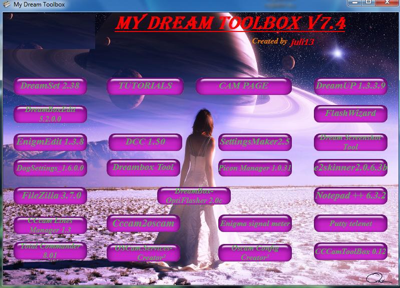 ����� ���� My Dream Toolbox v7.4